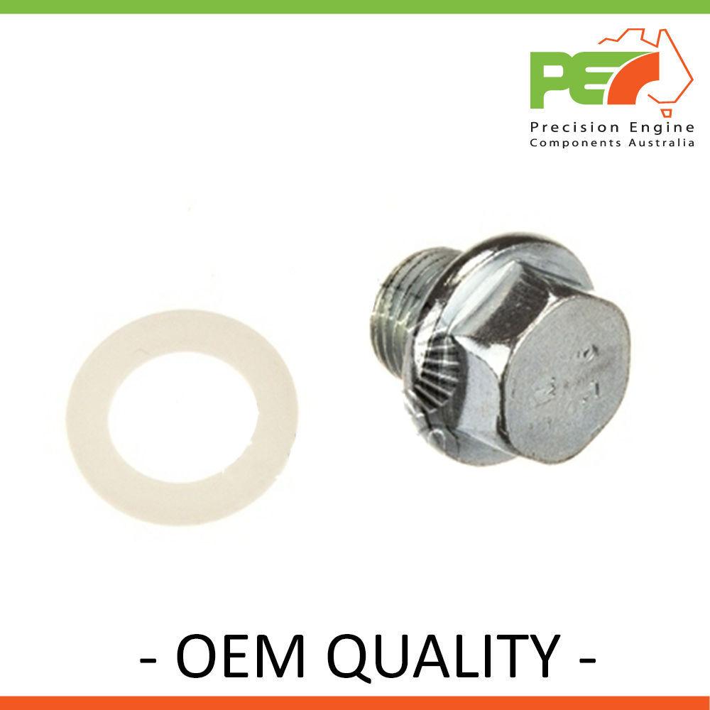 New *OEM Quality*  Sump// Drain Plug For Holden Calais Vl 3.0l Rb30et..