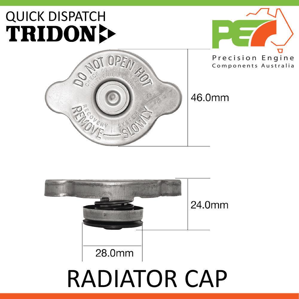 New Radiator Cap For Holden Colorado Rodeo RC RA03 RA07 3.6L TRIDON