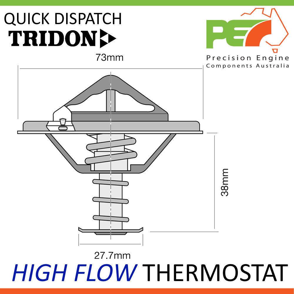 V119 Diesel * TRIDON Thermostat Gasket For Daihatsu Delta DV28 V10