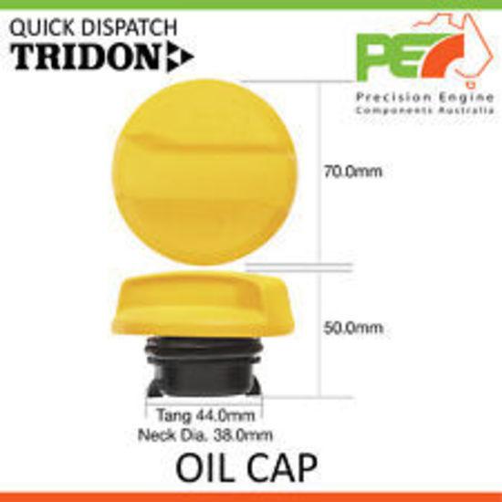 New * TRIDON * Oil Cap For Holden Commodore VE-MY10 LPG V6 VZ VE VE