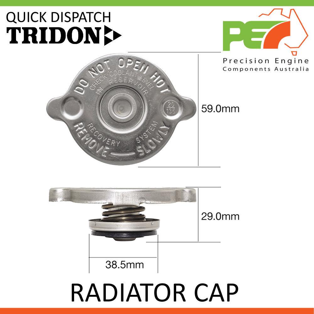 TRIDON New GL 1.8 GTi Radiator Cap w//Lever For Proton Satria 1.3