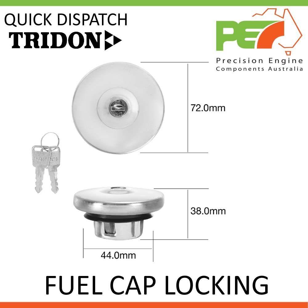 TRIDON FUEL CAP LOCKING FOR Holden FX FJ 11//48-12//56 6 Grey OHV TFL206V